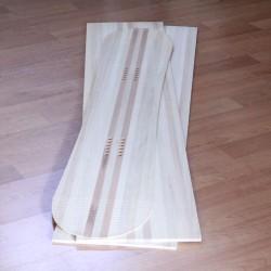 Anima legno snowboard pioppo